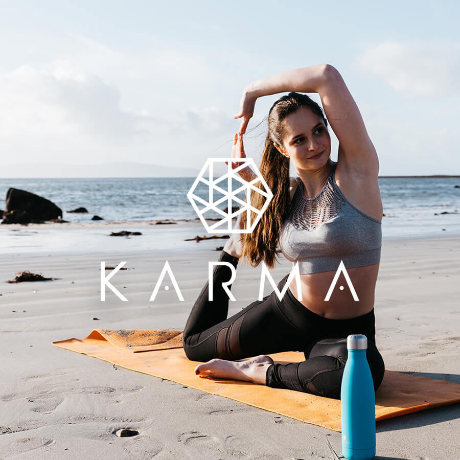Karma Eco Brand Badge