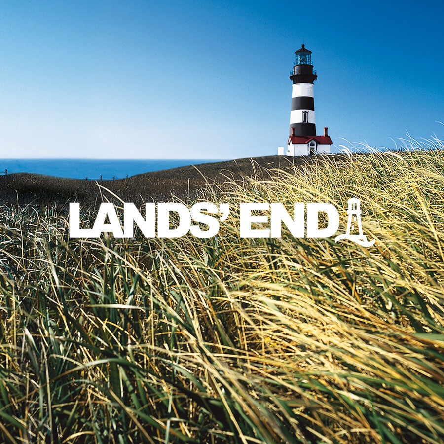Lands End Brand Badge