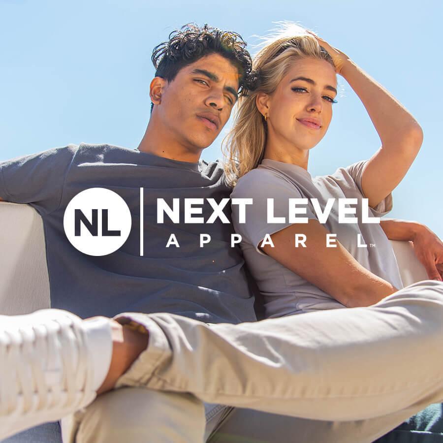 Next Level Brand Badge