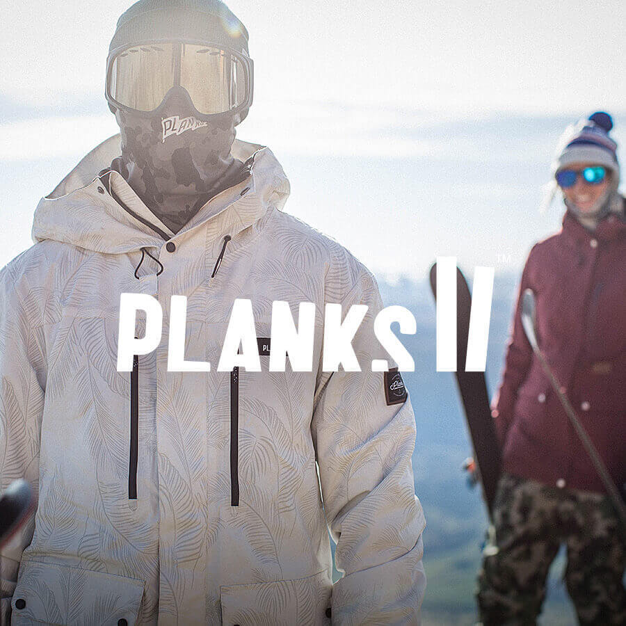 Planks Clothing Badge
