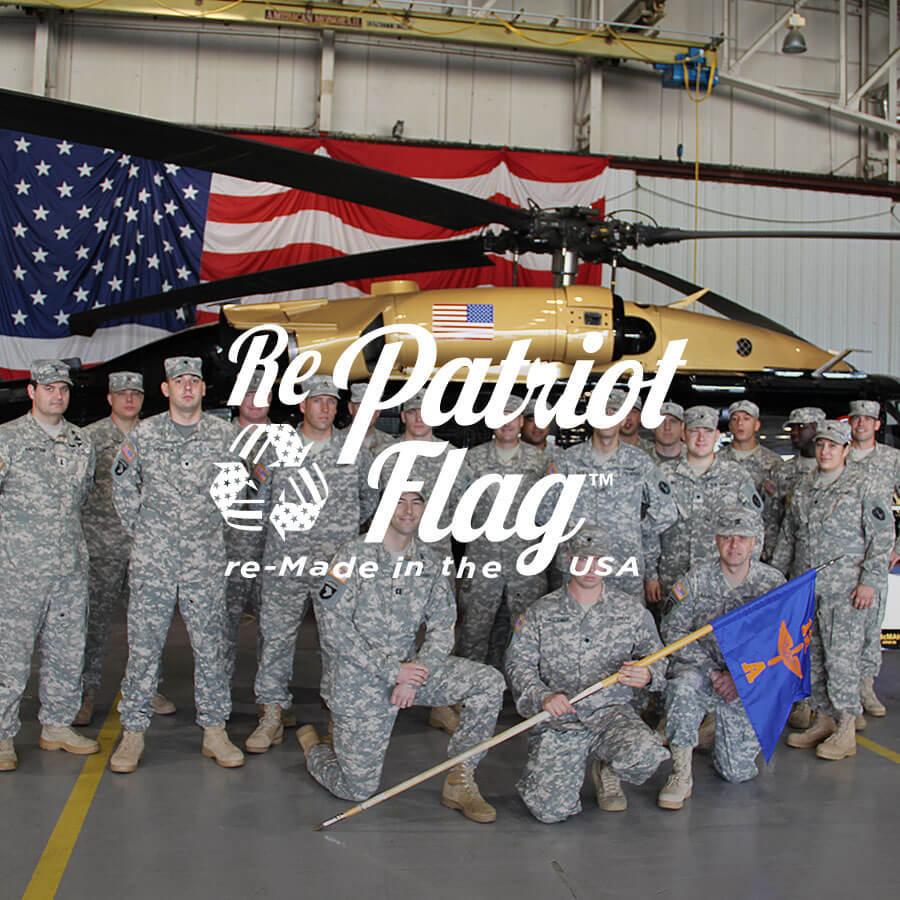 Repatriot Flag Badge