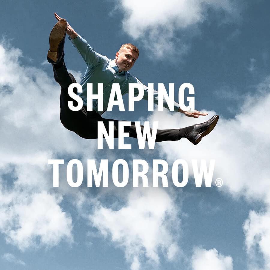 Shaping New Tomorrow Brand Badge