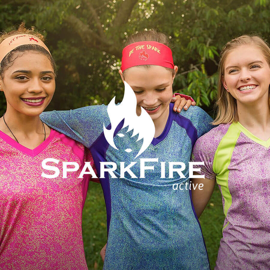Sparkfire Active Badge