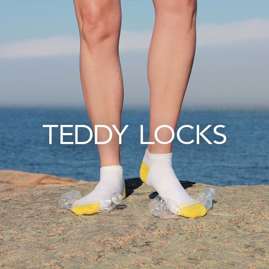 Teddy Locks Brand Badge