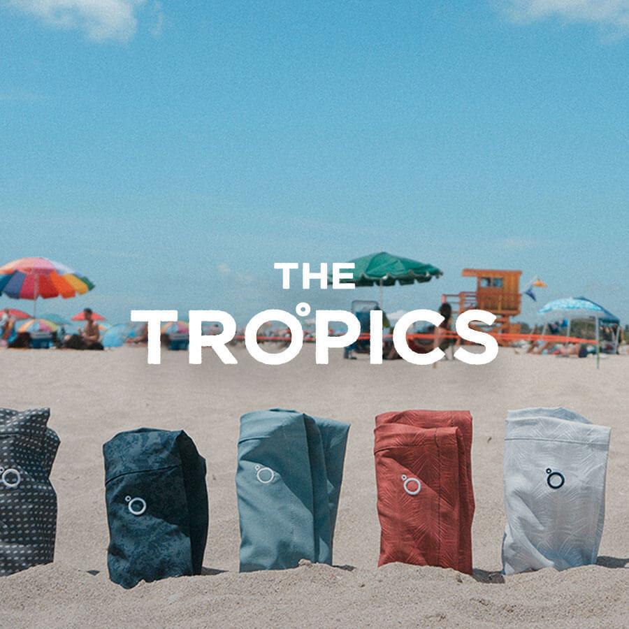 The Tropics Badge