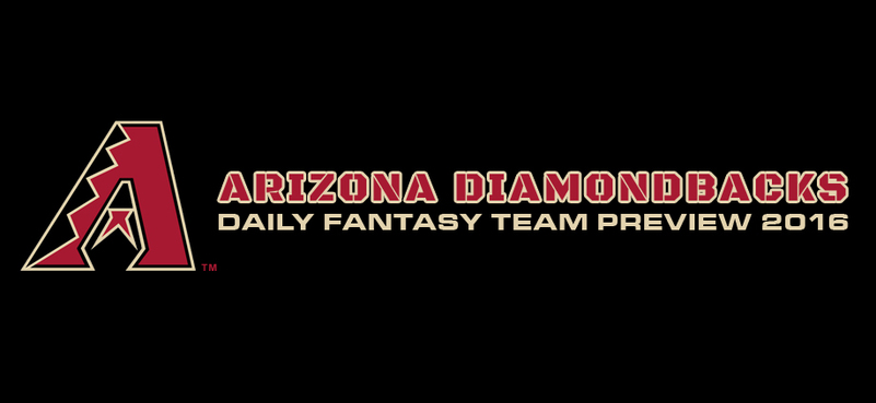 Arizona Diamondbacks - Daily Fantasy Team Preview 2016