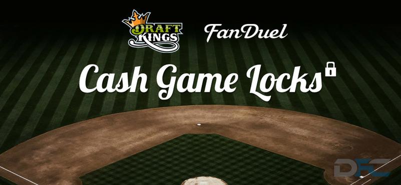 MLB Cash Game Locks: 4-4-16