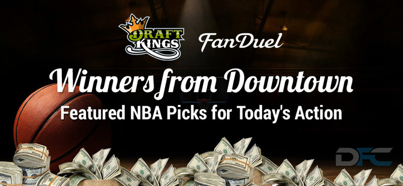 NBA Winners From Downtown: 4-6-16