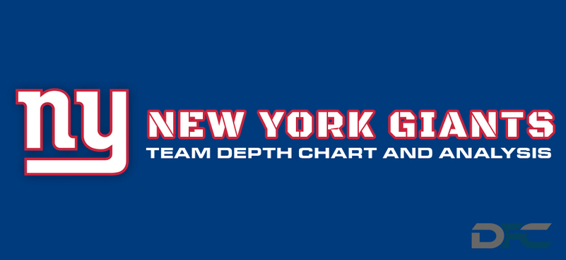 New York Giants Depth Chart 2016 Ny Giants Depth Chart