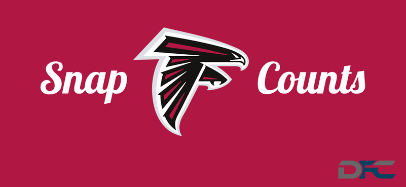 Atlanta Falcons Snap Counts