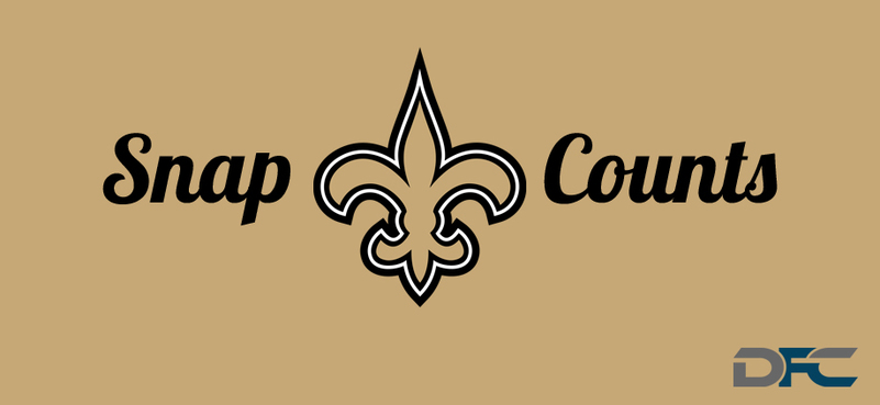 New Orleans Saints Snap Counts