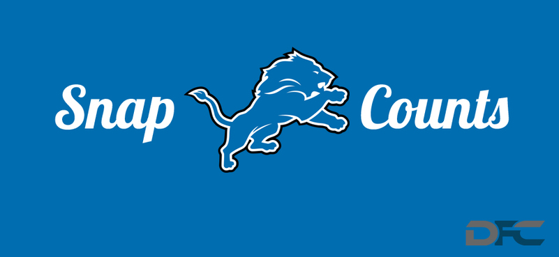 Detroit Lions Snap Counts