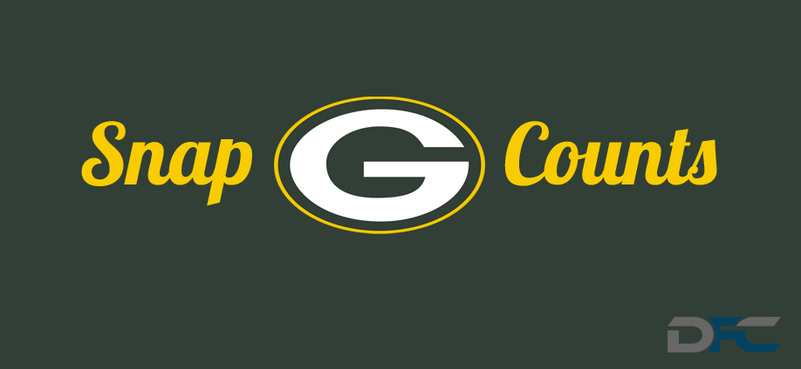 Green Bay Packers Snap Counts