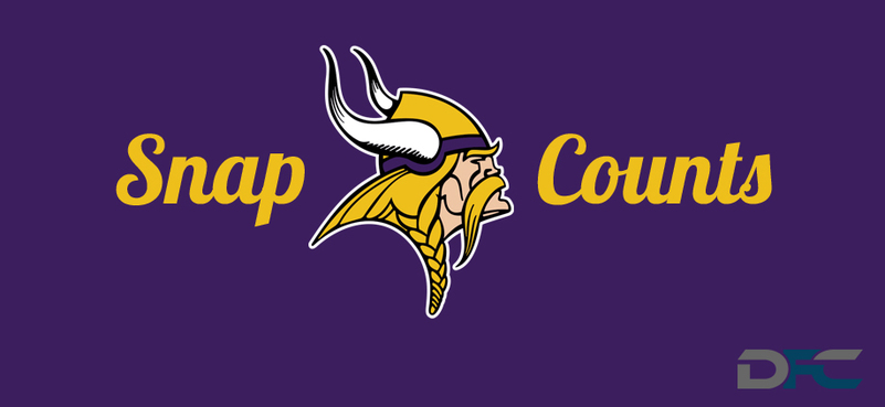 Minnesota Vikings Snap Counts