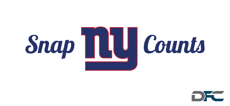 New York Giants Snap Counts