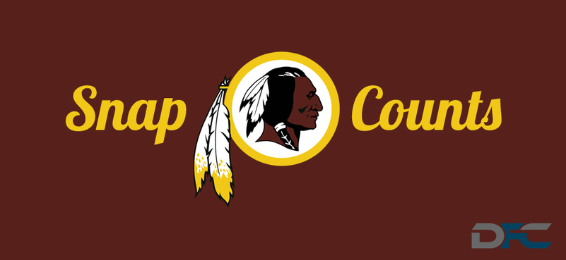 Washington Redskins Snap Counts