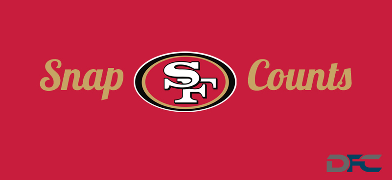 San Francisco 49ers Snap Counts