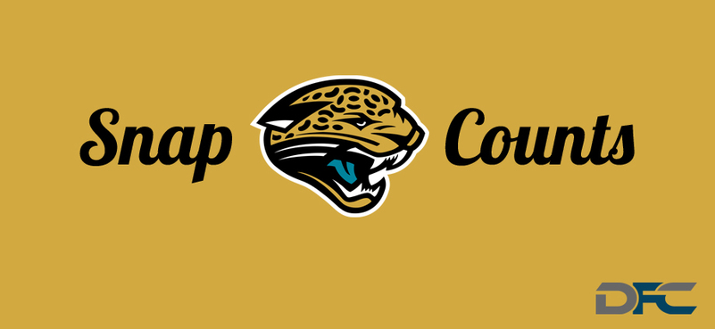 Jacksonville Jaguars Snap Counts