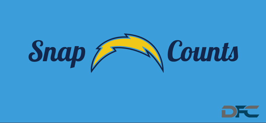 san diego chargers snap counts 2015 2016 chargers snap counts