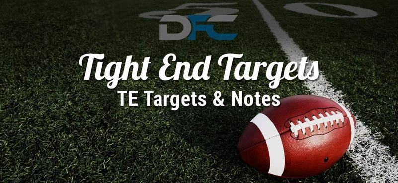 Tight End (TE) Targets