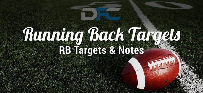 Running Back (RB) Targets