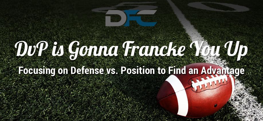Defense Vs  Position: NFL Week 6, Week 6 DvP Rankings