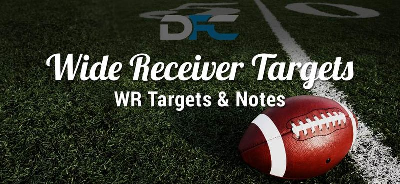 Wide Receiver (WR) Targets