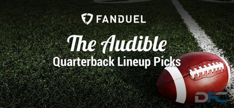 FanDuel Quarterback Analysis: NFL Week 8