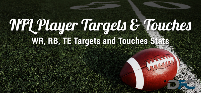NFL Player Targets & Touches Stats