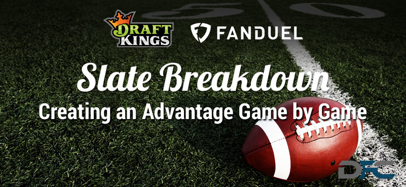 NFL Week 11 Slate Breakdown
