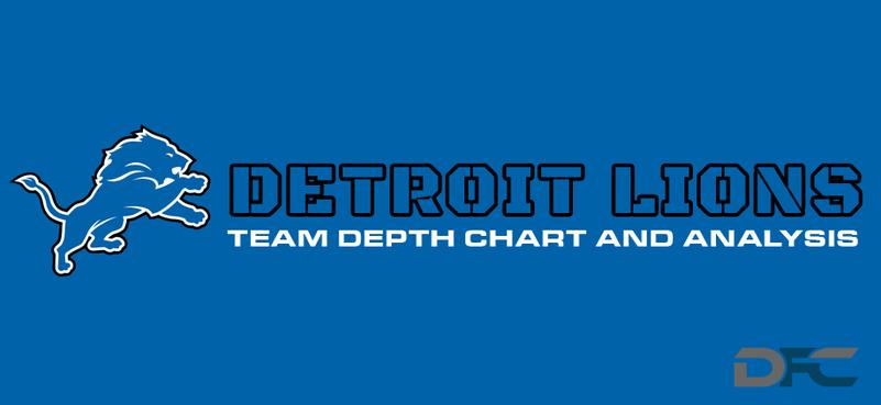 Detroit Lions Depth Chart 2017
