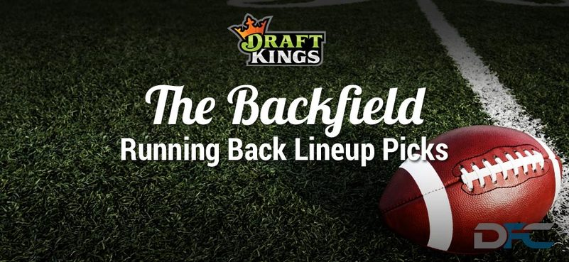 DraftKings Running Back Analysis: NFL Week 16