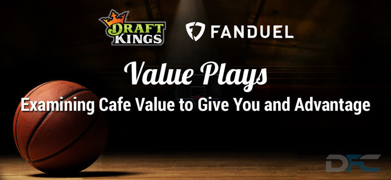 FanDuel & DraftKings NBA Value Plays: 12-26-16