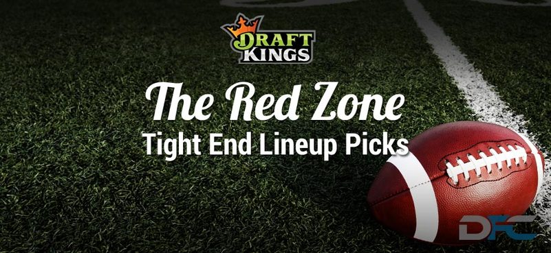 DraftKings Tight End Analysis: NFL Wild Card Round