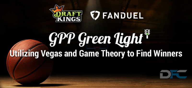 NBA GPP Green Light 1-14-17