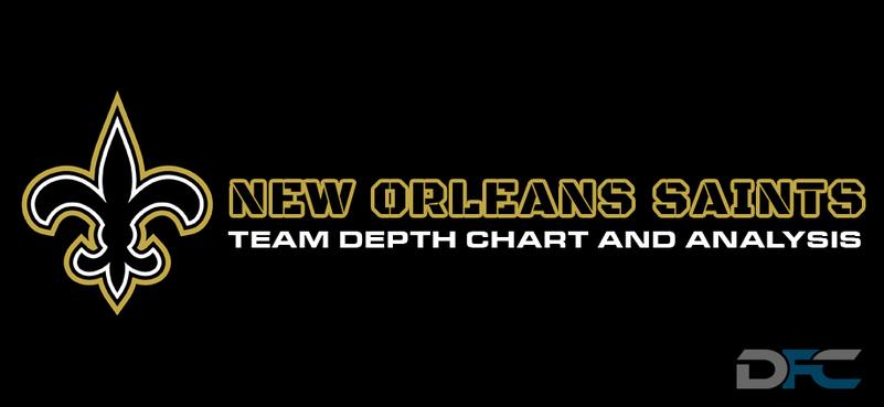New Orleans Saints Depth Chart 2017