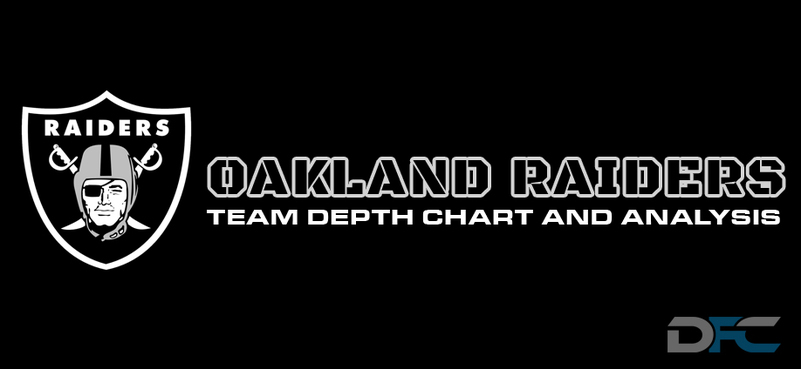 Oakland Raiders Depth Chart 2017