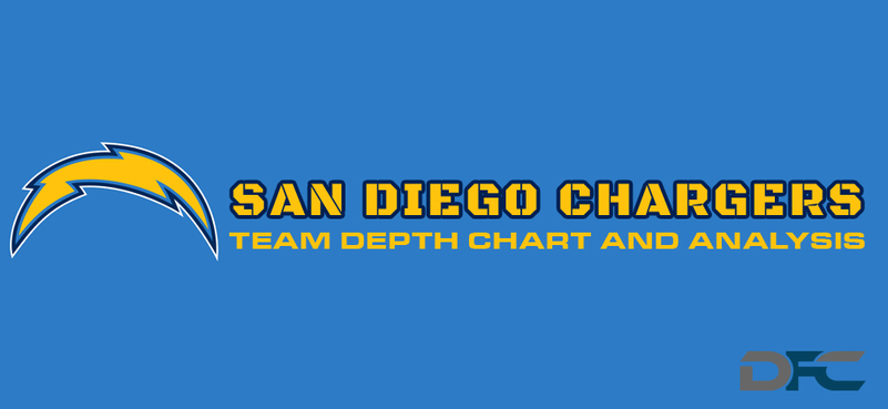 San Diego Charger Depth Charts 2017