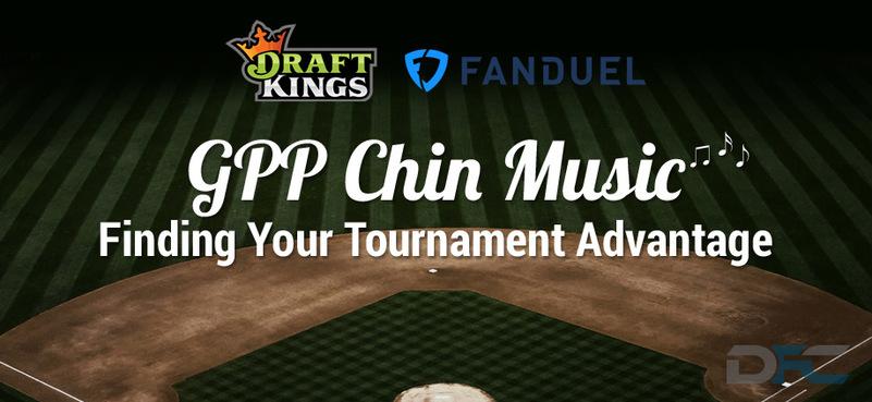 MLB GPP Tournament Picks:  4-16-17