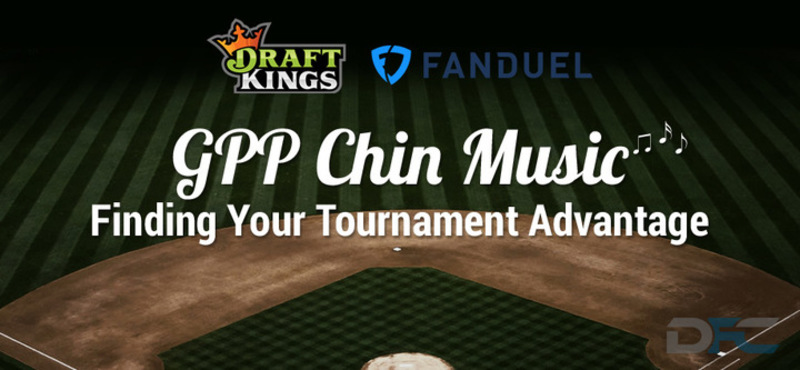 MLB GPP Tournament Picks: 7-25-17