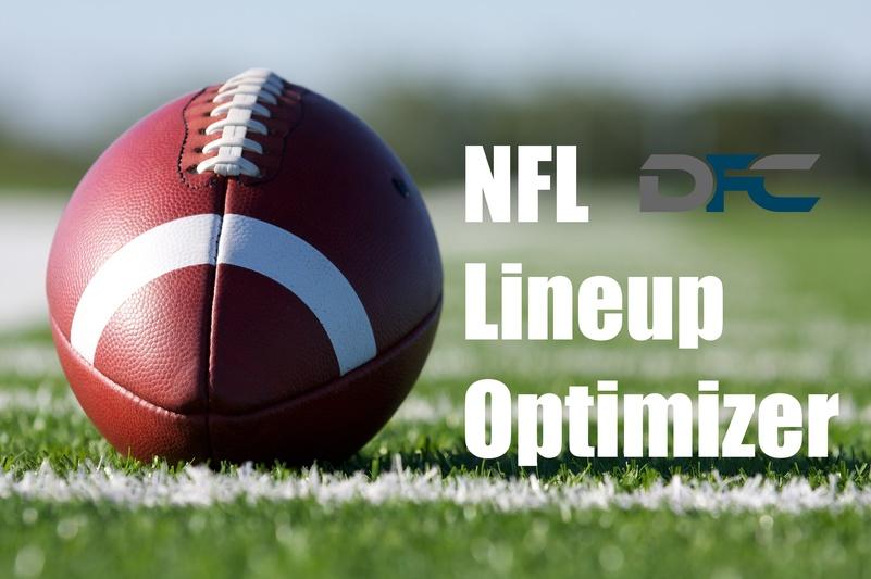 NFL Lineup Optimizer, DraftKings, FanDuel NFL Lineup Generator