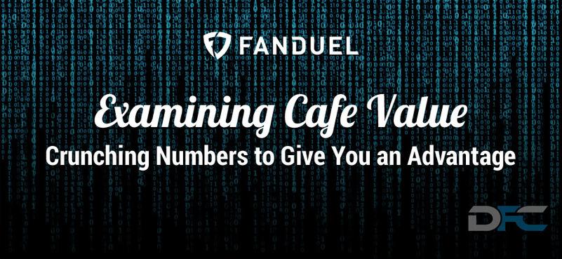 NFL Week 3: Examining FanDuel Cafe Value