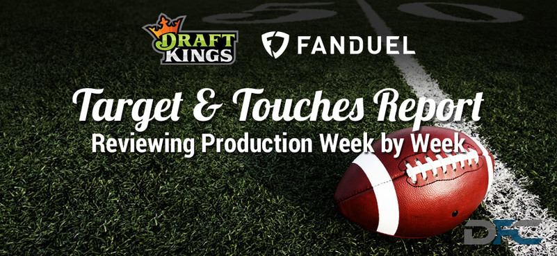 NFL Target & Touches Report: Week 4