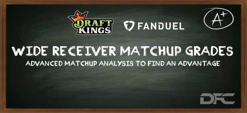 NFL Week 4: WR/CB Matchup Grades