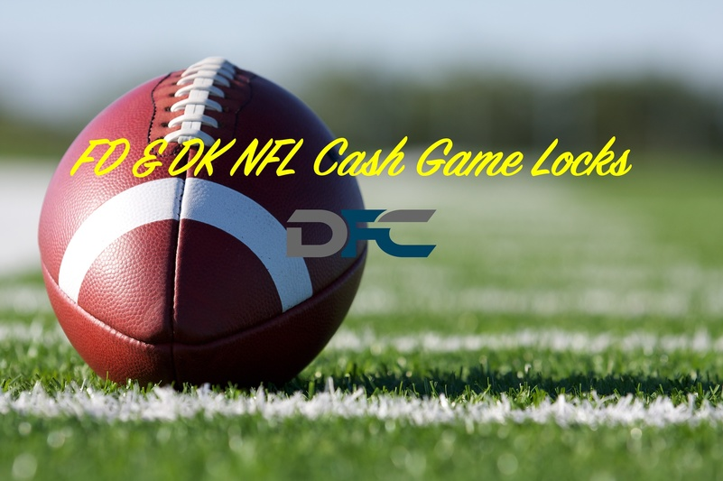FanDuel & DraftKings NFL Week 1: Cash Game Locks