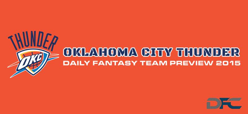 Oklahoma City Thunder Daily Fantasy Team Preview