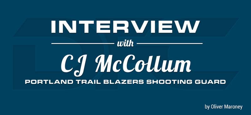 Courtside with CJ McCollum