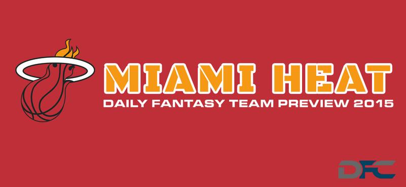 Miami Heat Fantasy Team Preview