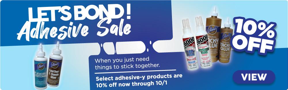 Le's bond! Adhesive Sale