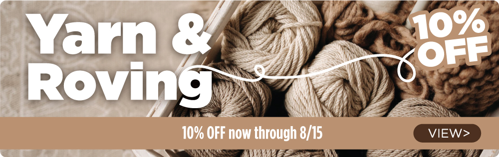 Yarn and Roving Sale